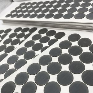 Dark Grey Adhesive Vents Stickers,Vent Label, Adhesive Protective Vents.