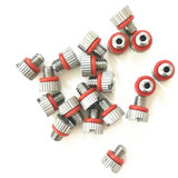 Ultra Thin 3mm height M4x0.7Metal Vent Plug