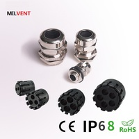 Multiple Holes and Flat Hole Brass Cable Gland