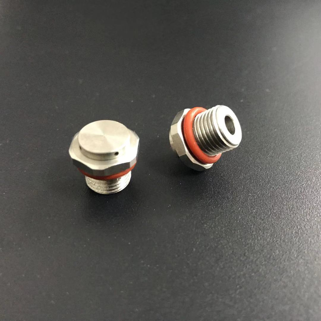 G1/8 Metal Breather Plug Screw In Protective Vents